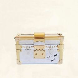 Louis Vuitton  Metallic Petite Malle  M50018