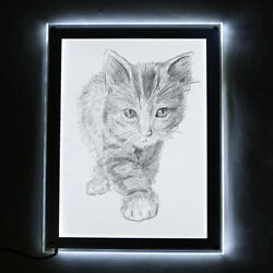 LED Tracing light Box Board Artist Tattoo A3 Drawing Pad Table Stencil Display