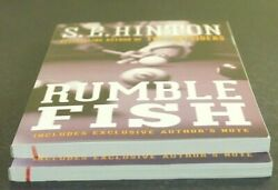 RUMBLE FISH by S. E. Hinton (Paperback)  ^ NEW ^