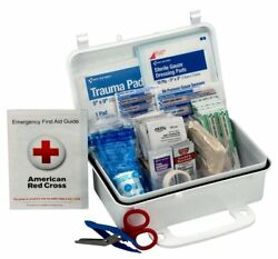 First Aid Only 10 Person First Aid Kit Weatherproof Plastic Case