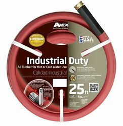 Apex 8695-25 Commercial All Rubber Hot and Cold Water Hose  58-Inch by