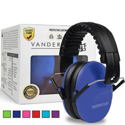 Vanderfields Earmuffs for Kids Toddlers Children - Hearing Protection Ear