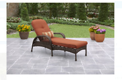 Outdoor Chaise Lounge Garden Chair Recliner Patio Furniture All Weather Wicker