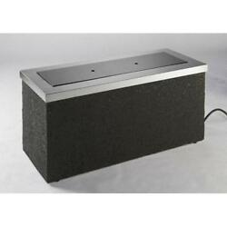 OUTDOOR GREATROOM KL-1242-SS Key Largo Fire Pit Top Grey Base Kit Stainless