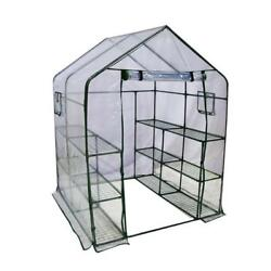 Abba Patio Mini Walk-In Greenhouse 12 Shelves Stands 3 Tiers Racks Portable...