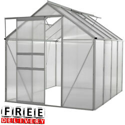 Greenhouse Kit Portable Walk In Polycarbonate Panel Plant Portable Garden