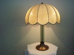 vintage table lamp 20 inches tall. $68.00