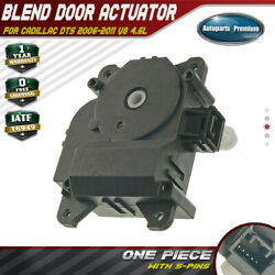 HVAC Heater Blend Door Actuator for Cadillac DTS 2006-2011 Auxiliary Mode 604168