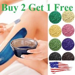 No Strip Depilatory Hot Film Hard Wax Beads pro Wax warmer Hair Removal Beans