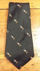 VINTAGE HILLS COURT GREEN TENNIS NOVELTY WIDE MENS NECK TIE FREE SHIPPING $9.99