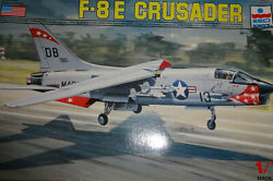 ESCI CHANCE VOUGHT 8E CRUSADER 1 72 Scale Model Airplane Vintage VIETNAM $25.00