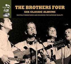 The Brothers Four - 6 Classic Albums 4 CD Box Set *New* Fast Uk Shipping