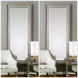 PAIR LARGE WALL HOME DECOR WALL ENTRY VANITY MIRROR WESTERN FARMHOUSE