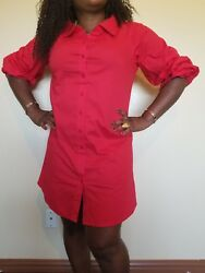 women red sun dresses $45.99