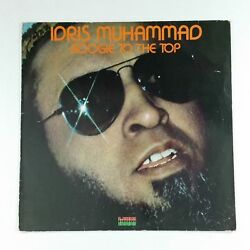 IDRIS MUHAMMAD Boogie To The Top 0063.040 GEMA LP Vinyl VG+ nr++ Cover VG+ KUDU