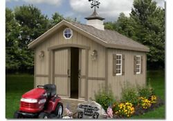 Best Barns Cambridge Woodshed 10' wide various lengths