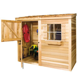 Cedarshed Bayside Lean-to in 4 sizes