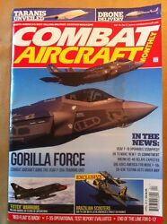 Combat Aircraft Monthly April 2014 FREE SHIPPING Drone Delivery Gorilla Force $14.99
