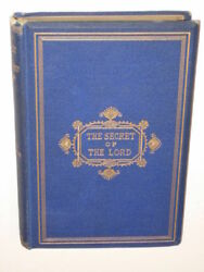 Shipton THE SECRET OF THE LORD Morgan & Chase 3rd Ed.