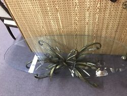 coffee table glass Vintage great condition $135.00