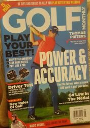 Golf Monthly June 2018 Power amp; Accuracy Play Your Best FREE SHIPPING CB $16.99