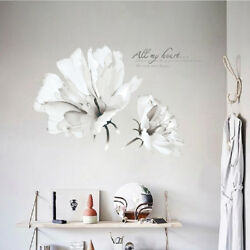 Decoration Stickers on the Wall 3D Flower Plant Wall Sticker Living Room Vinyl $16.90