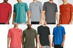 Under Armour Men#x27;s UA Sportstyle Left Chest Short Sleeve T Shirt 1326799 NWT $22.45