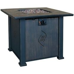 Lari Gas Fire Table Portable Outdoor Patio Heating Equipment Decor Accent New