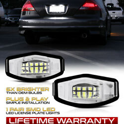 For Honda Accord Civic Acura TSX TL ILX COMPLETE HOUSING LED License Plate Light $11.99