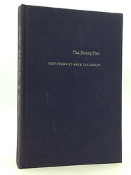 THAT SHINING PLACE: New Poems by Mark Van Doren - 1969 - 1st ed - Literature