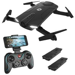 Holy Stone HS160 Shadow FPV RC Drone with 720P HD Wi-Fi Camera Live Video Fee... $69.79