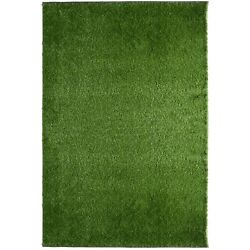 DELUXE IndoorOutdoor Artificial Fake Grass Area Rug
