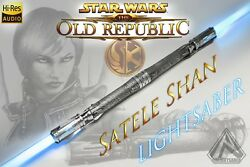 Rolightsaber Satele Shan Old Republic Jedi lightsaber STAR WARS light saber