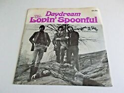 The Lovin' Spoonful Daydream 45 1966 Kama Sutra Picture Sleeve Vinyl Record