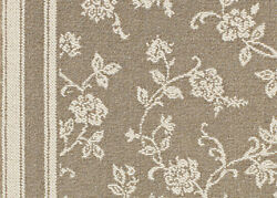 Coral Gables Tobacco Pattern Custom Cut Indoor Carpet Area Rugs