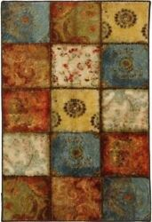 8x10 AREA RUG INDOOR OUTDOOR Large Carpet Bedroom Mohawk Home Floor Colorful