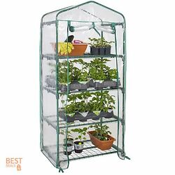 Greenhouse Kit Mini Indoor Cover Small Portable Gardening Supplies Clear Plastic