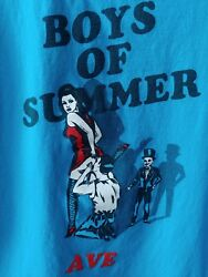 SUPREME BOYS OF SUMMER BLUE AVE SKATE SHIRT LARGE TEE EXCELLENT CONDITION $65.00
