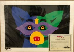 George Rodrigue Blue Dog Mardi Gras 2015 Limited Edition Numbered Silkscreen