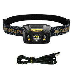 NITECORE NU32 550 Lumen LED Rechargeable Headlamp with White and Red Beams $39.95