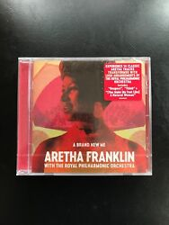 A Brand New Me by Royal Philharmonic Orchestra Aretha Franklin NEW CD