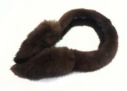 Surell Brown Mink Fur Earmuffs $90.00
