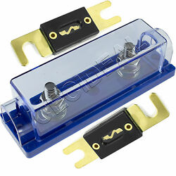 ANL Fuse Holder High Quality 1048 Gauge + 2 Pack 300 Amp 300A Fuse USA $9.95