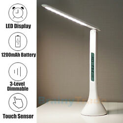 LED Desk Lamp Home Table Lamp 3 Levels Adjustable Night Light Touch Control $17.99