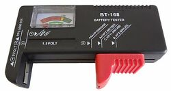New Battery Tester Universal Volt Checker AAA AA C D 9V & Button Cell US  $5.49