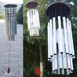 Large 27 Tubes Windchime Chapel Bells Wind Chimes Outdoor Garden Home Decor US $12.99