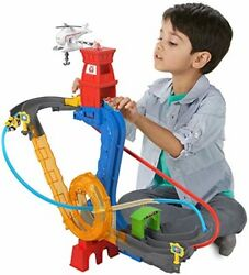 Thomas Friends Motorized Rescue Train Car Play Set Track Helicopter Kids Toy $190.51