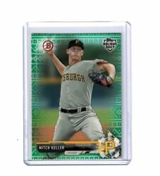2017 TOPPS HOLIDAY BOWMAN MITCH KELLER (599 GREEN SWEATER) #TH-MK $4.99