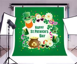 6x6Ft Postcard Poster or Banner For St. Patrick's Day Photography Background  $12.21