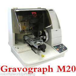 BEST Gravograph M20 Mechanical Engraver Jewelry Solution for Flat Ring Engraving